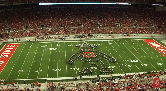 Ohio State U Marching Band Oz Tribute 9-27-14