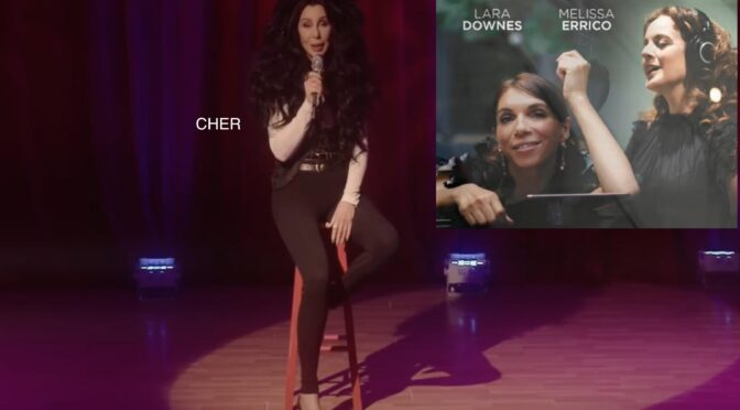 CHER AND MELISSA SING YIP… FOR JOE BIDEN
